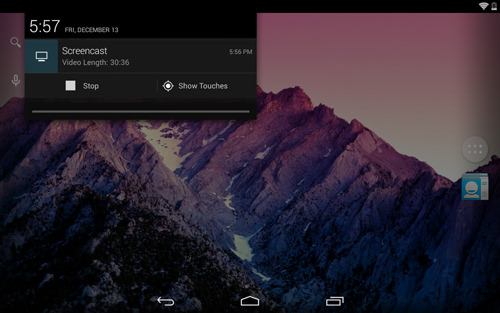 Screencasting On Android