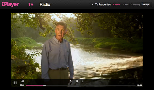 BBC iPlayer Playing