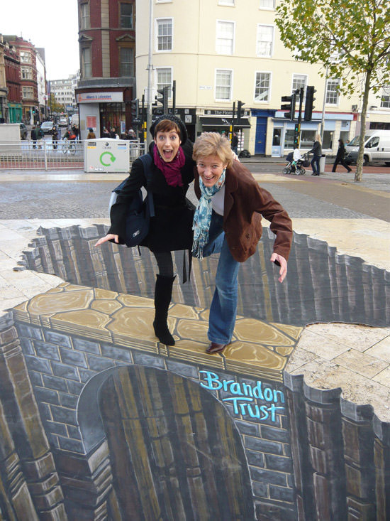 Brandon Trust bridge 3d art