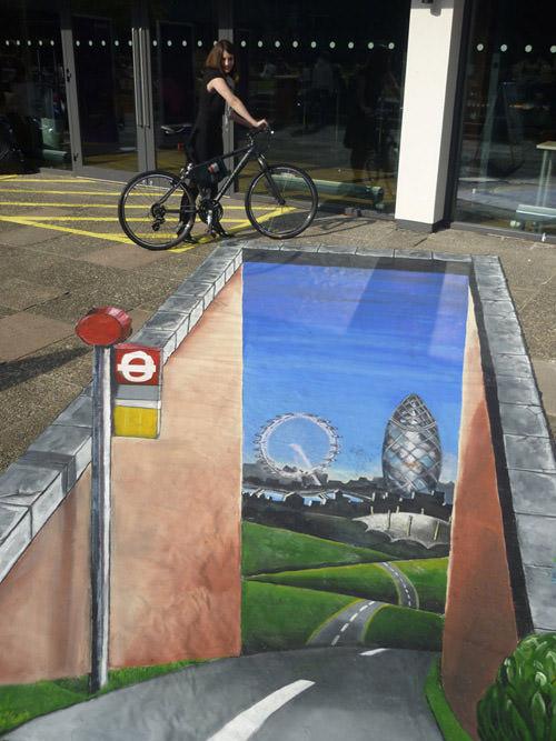 London this way 3d art