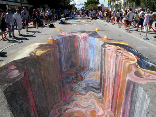 Really hot Asphalt 3d art