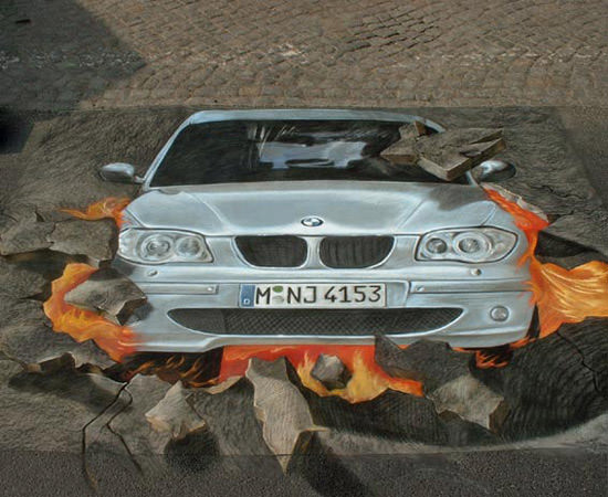 BMW Berlin 3d art