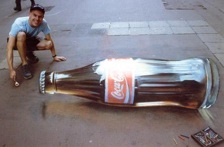 Coke 3d art