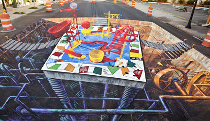 Mousetrap 3d art