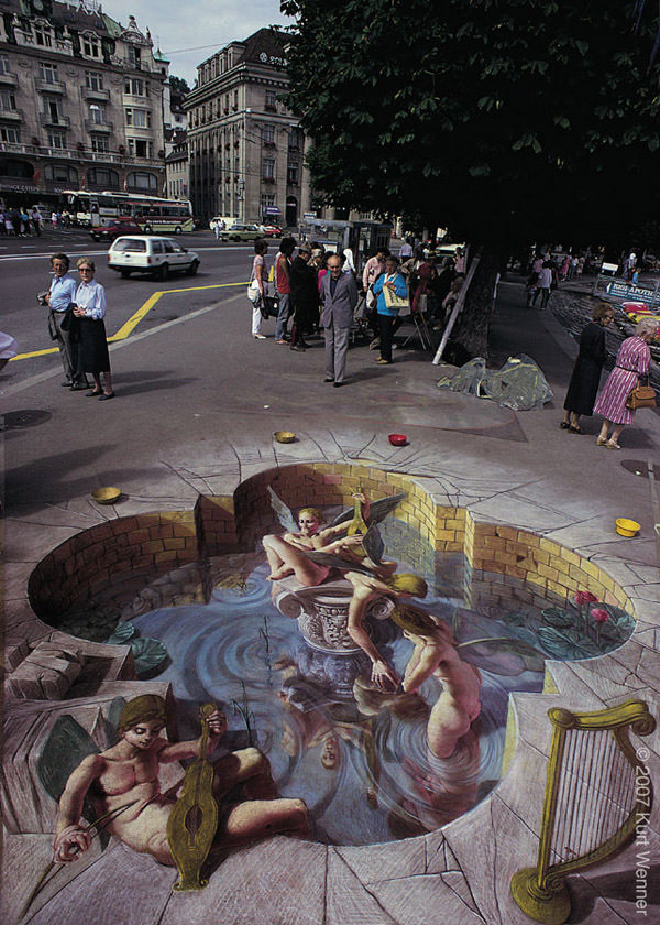 50 Absolutely Stunning 3D Street Art / Paintings, Vol. 3 - Hongkiat