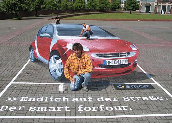 Smart 3d art