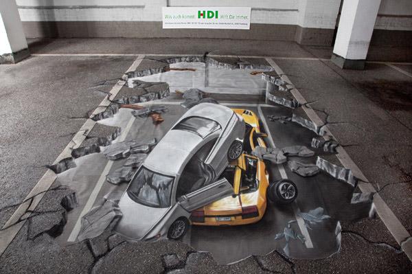 HDI 3d art