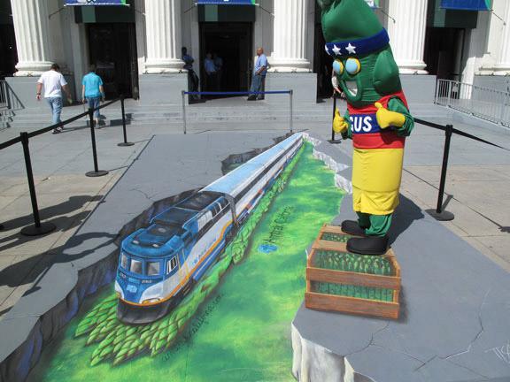 Train 3d art