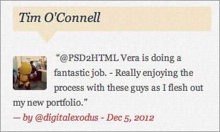 Slicing website design layouts HTML PSD
