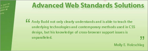 Web design book CSS3 properties