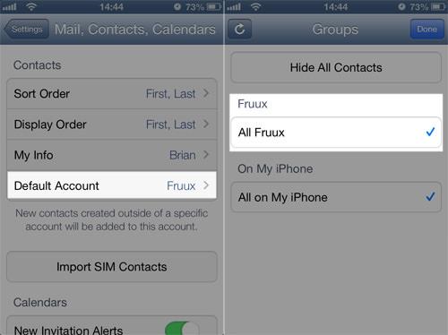Fruux iOS