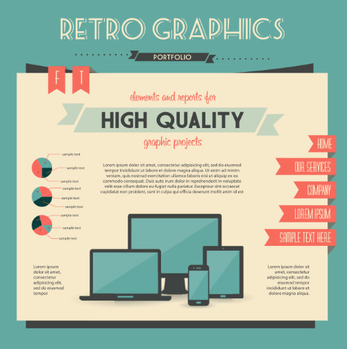 Portfolio Retro Graphics