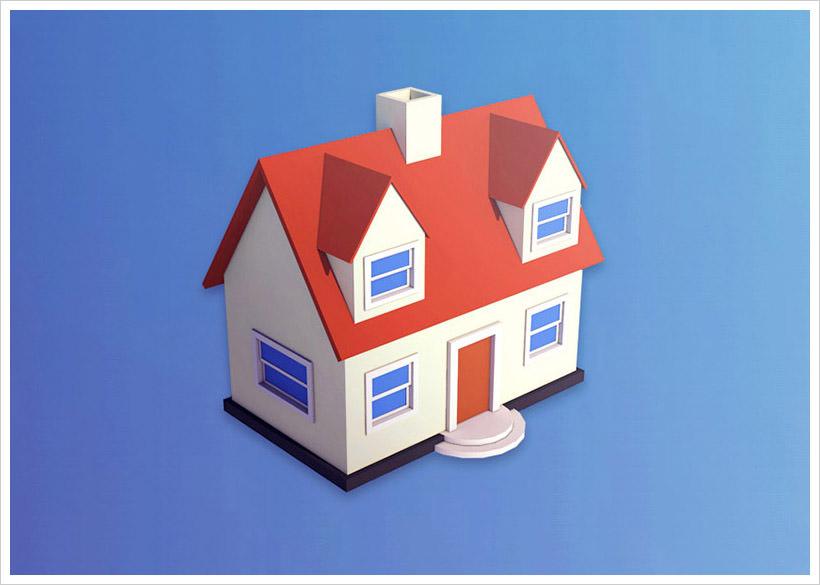 Create 3D House