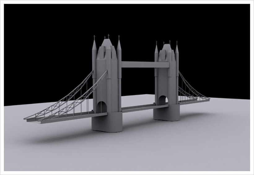 Model London Bridge