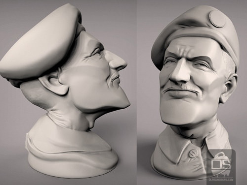 3D Model The Colonel