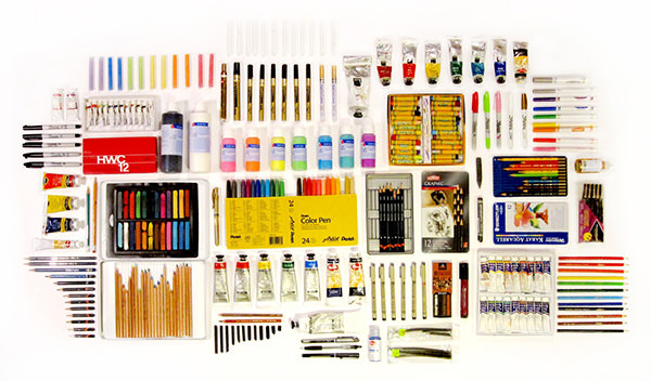 art-supplies-organized-neatly