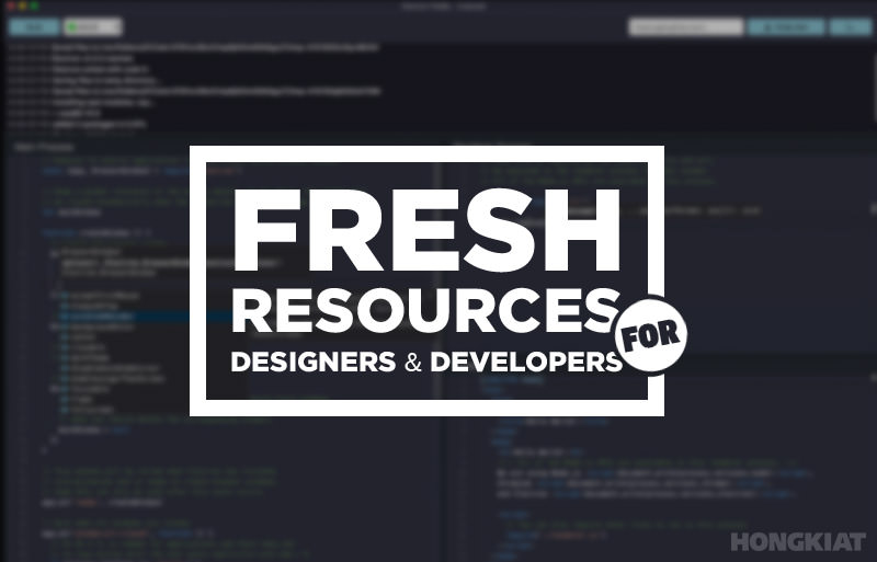 hongkiat.com - Thoriq Firdaus - Fresh Resources for Web Designers and Developers (September 2018)