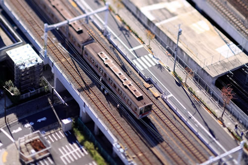 Nakayan's tilt-shift Tokyo