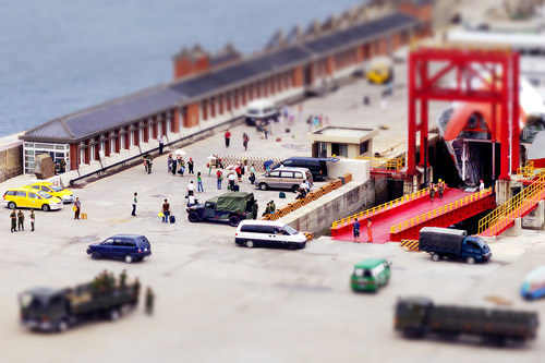 Tilt-shift - Jhongjhu Port