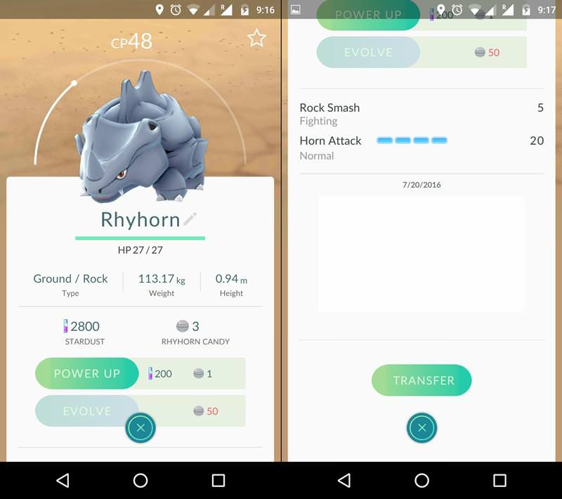 Evolve High-CP Pokemon and Check its Moveset