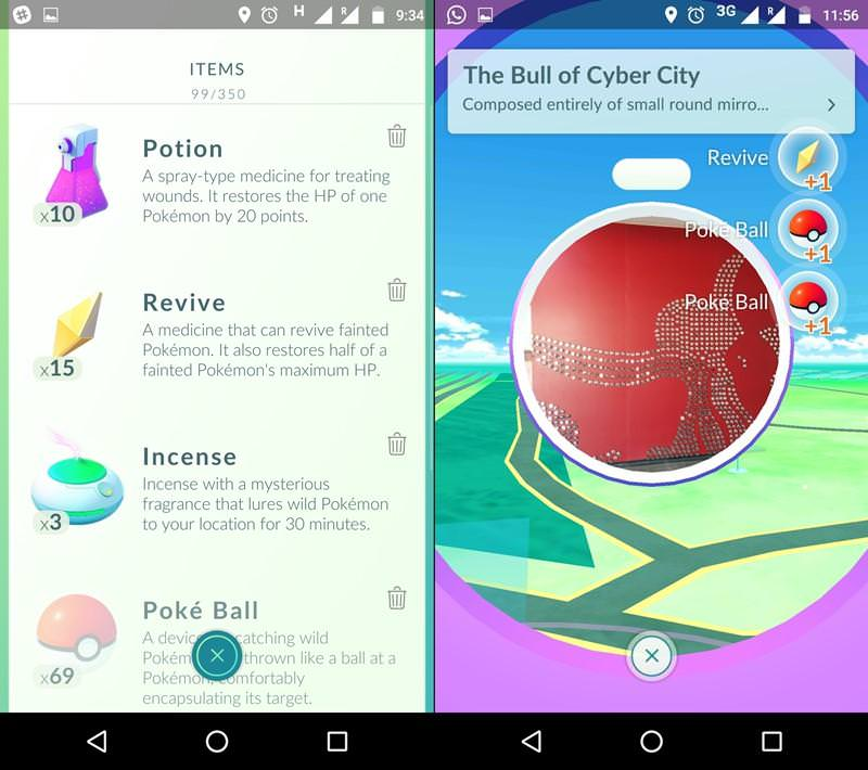 Use Items to Heal Pokemons and Restore their Health