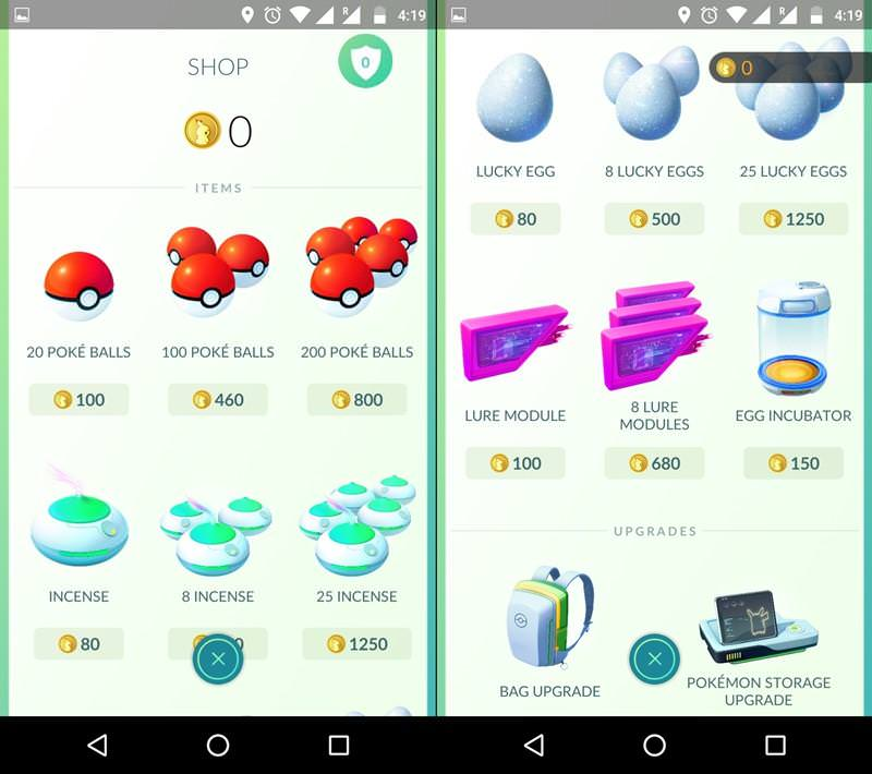 Use Items to Find, Catch and Train Pokemons