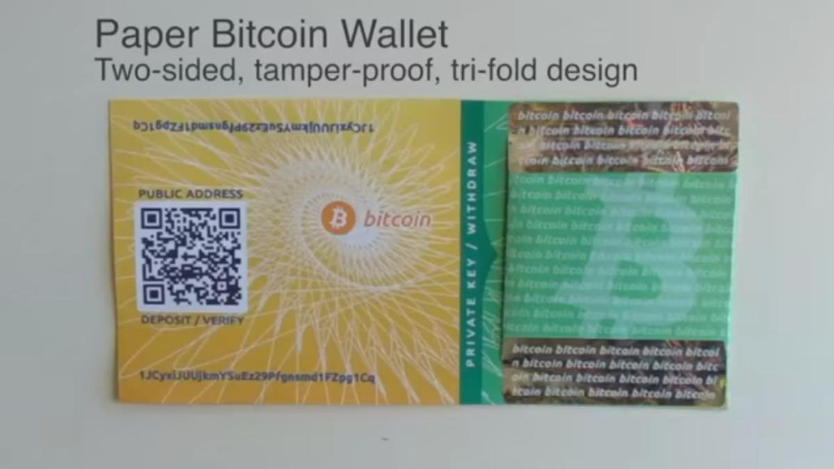 A paper wallet is most secure wallet