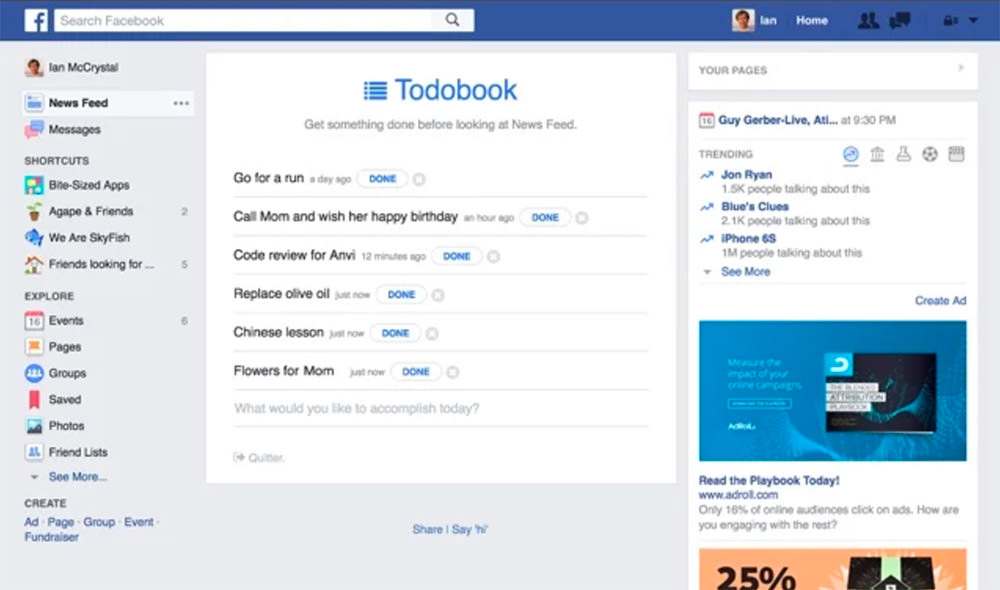 totobook for facebook