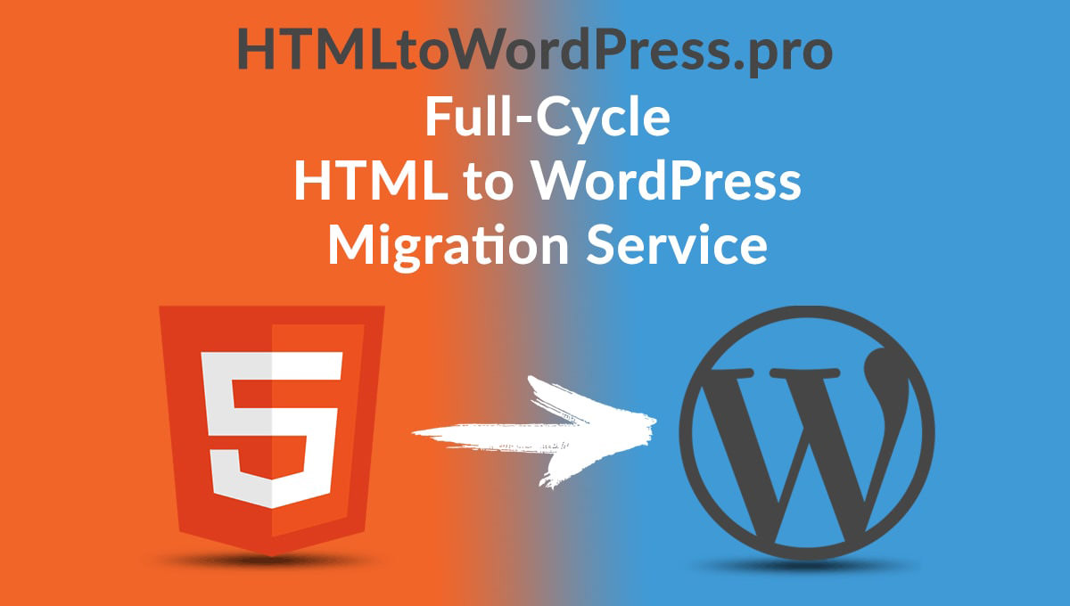 html to wordpress