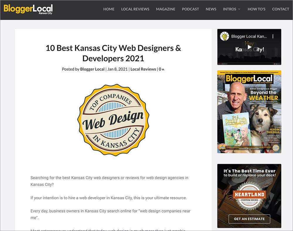 Web designers in Kansas City