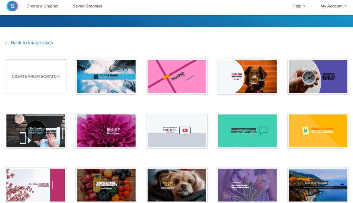 Snappa offers thousands of templates
