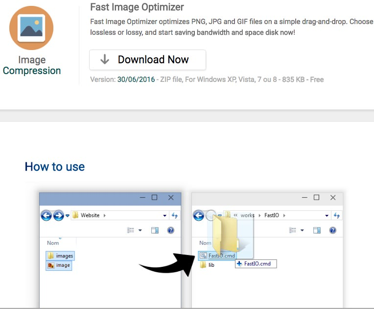 Fast Image Optimizer