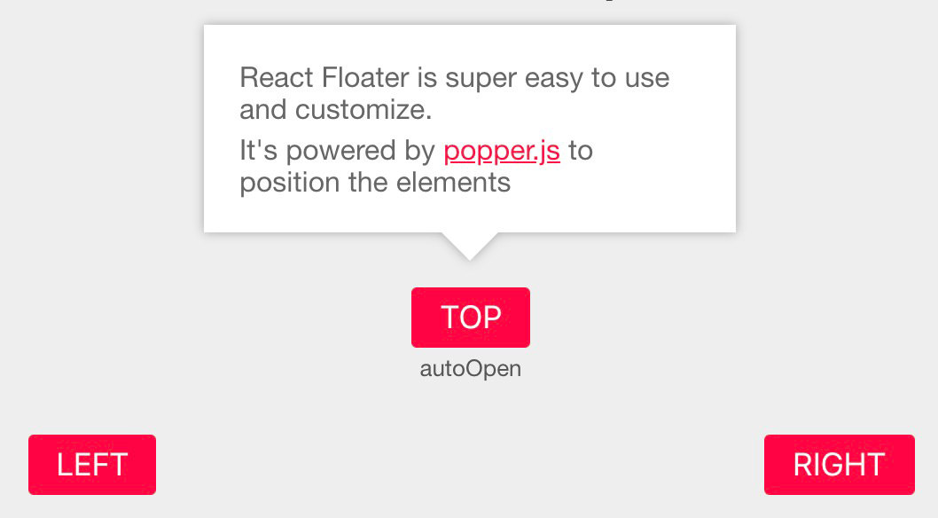 React Floater