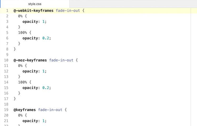 Atom code editor to edit CSS
