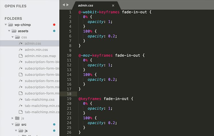Sublime Text Code editor runs on macOS