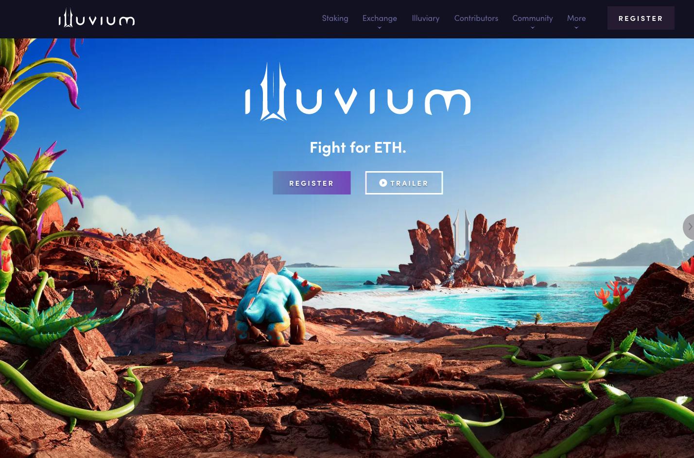 Best upcoming NFT games - Illuvium