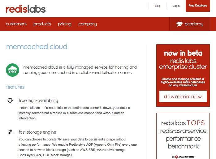memcached cloud
