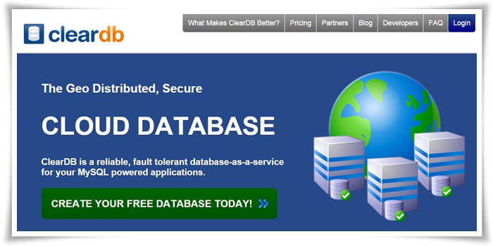 cleardb mysql database