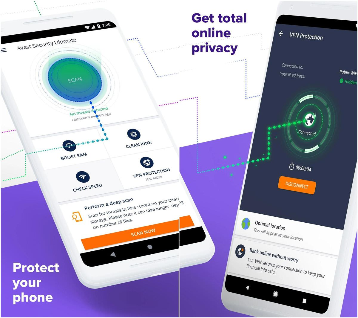 Avast Antivirus for Android and iOS