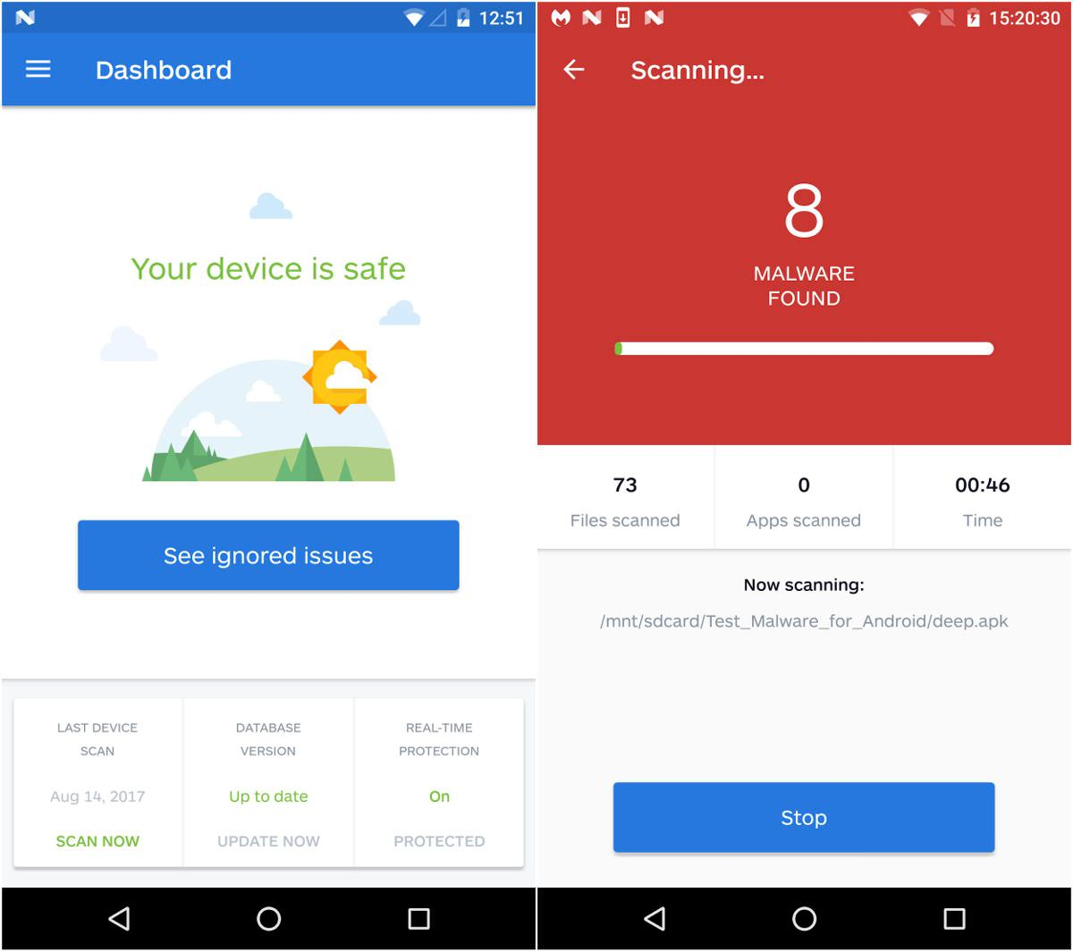 MalwareBytes Security for Android and iOS