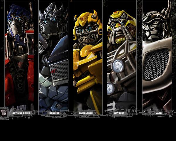 Autobots portraits