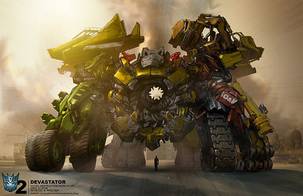 devastator unapproved version