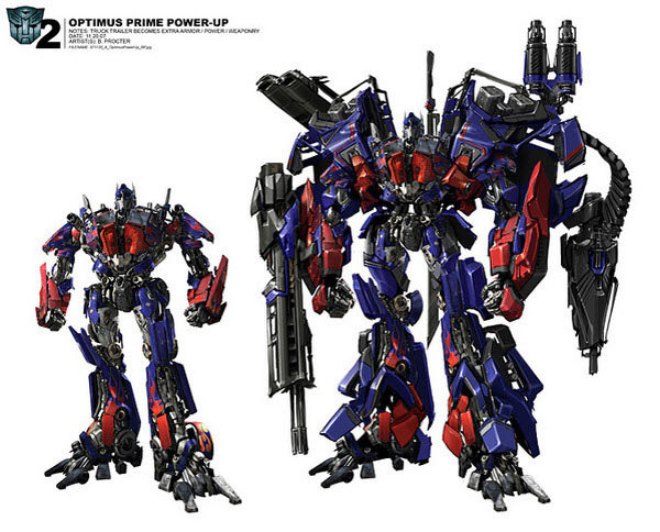 optimus prime power up unapproved version