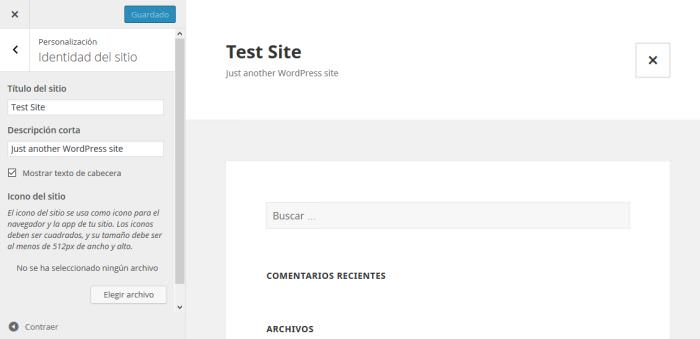 Test Site In Spanish