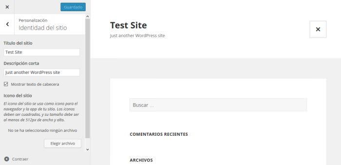 Test Site In Spanish