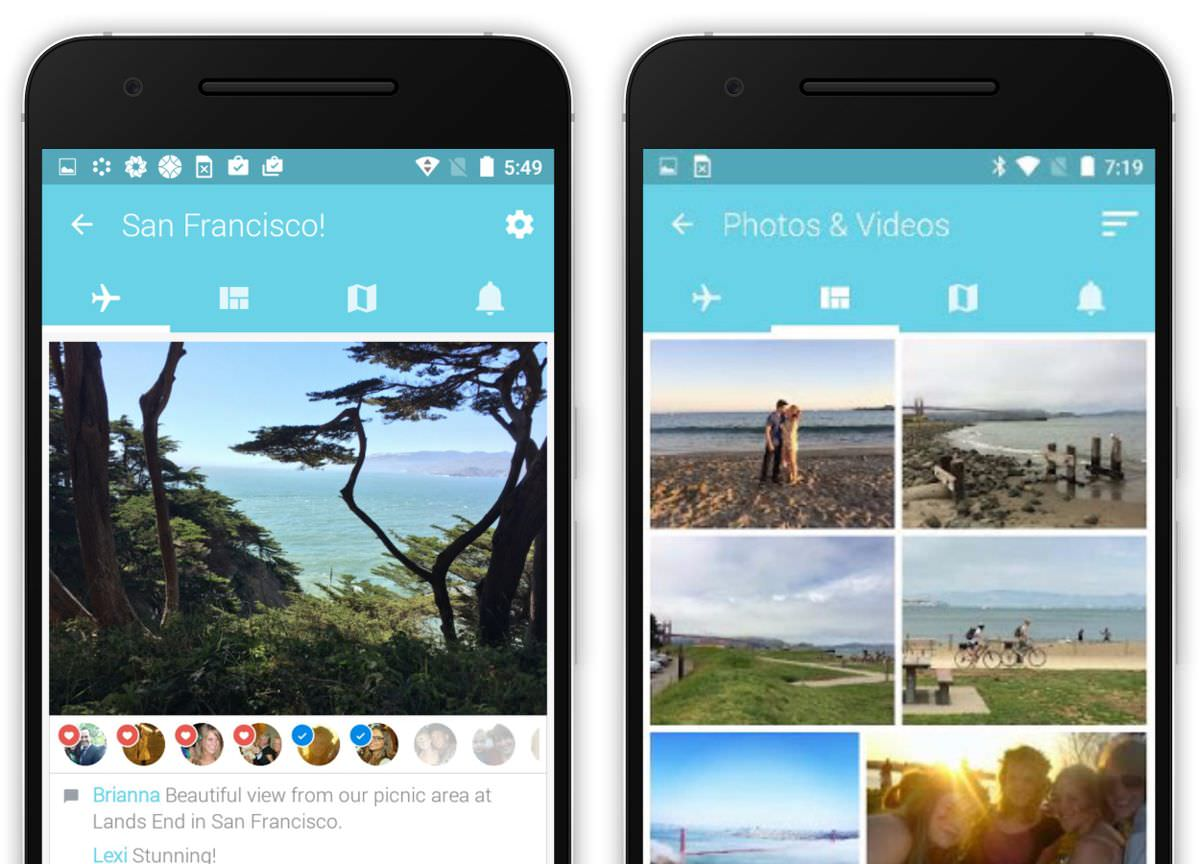Tripcast is an app for group travelers