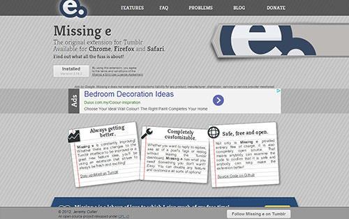 Missing E