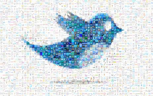 blue bird mosaic