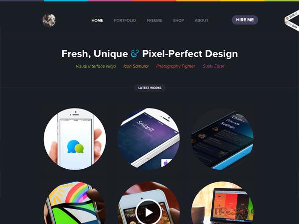 visual designer portfolio