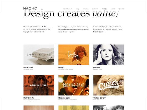 designers portfolio